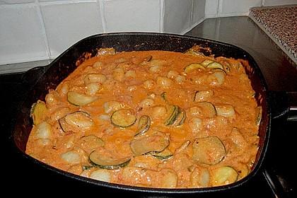 Gnocchi - Zucchini - Pfanne mit Schafskäse 68