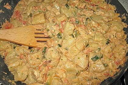 Gnocchi - Zucchini - Pfanne mit Schafskäse 43