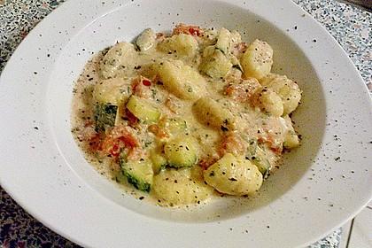 Gnocchi - Zucchini - Pfanne mit Schafskäse 61