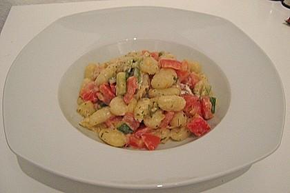 Gnocchi - Zucchini - Pfanne mit Schafskäse 71