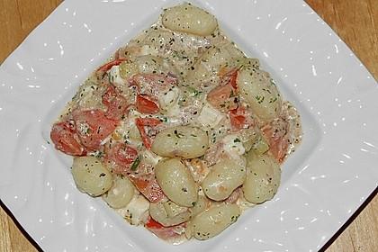 Gnocchi - Zucchini - Pfanne mit Schafskäse 38