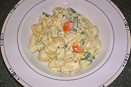 Gnocchi - Zucchini - Pfanne mit Schafskäse 33
