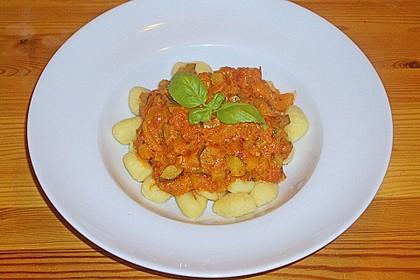 Gnocchi - Zucchini - Pfanne mit Schafskäse 40
