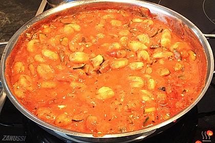 Gnocchi - Zucchini - Pfanne mit Schafskäse 54