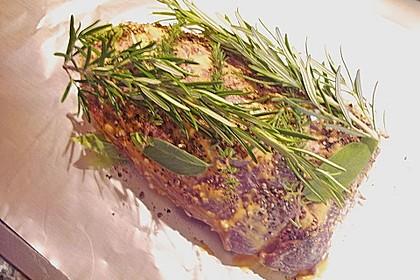 Rinderschulterfilet (falsches Filet) mariniert und NT geschmort 15