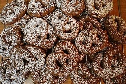 Schokoladenbrezel (Bild)