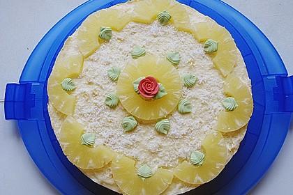 Ananas - Kokos - Kuchen
