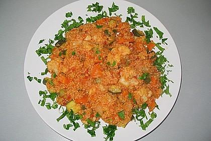 Gemüse mit Couscous II