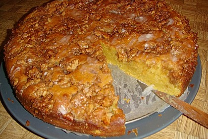 Kurbis Pie Kuchen Mit Walnuss Streuseln Chefkoch De