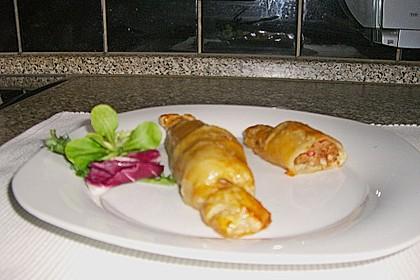 Frischkäse-Hackfleisch-Röllchen in Blätterteig 16