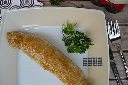 Frischkäse-Hackfleisch-Röllchen in Blätterteig 7