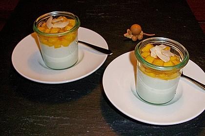 Panna Cotta für Liebhaber der asiatischen Küche