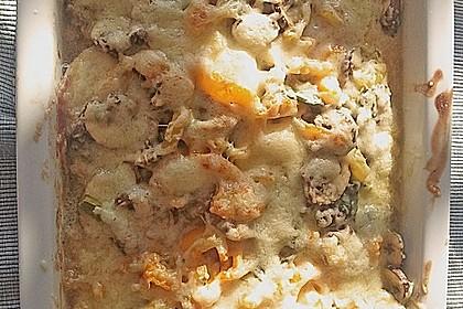 Ofenschnitzel mit Champignons und Paprika 1