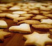 Butterplätzchen - Weihnachtsplätzchen (Bild)
