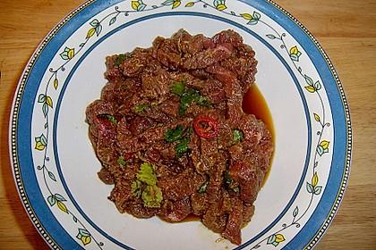 Fajitas mit Rindfleisch 6