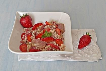 Erdbeer-Rhabarber-Bulgur 1