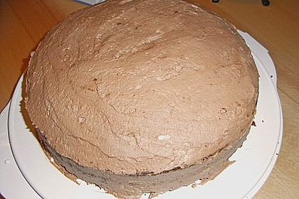 Gâteau à la crème au chocolat 6