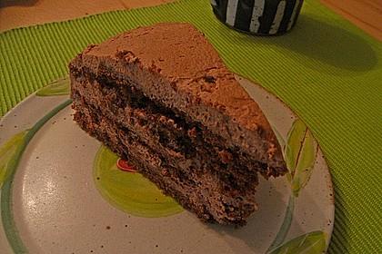 Gâteau à la crème au chocolat 5
