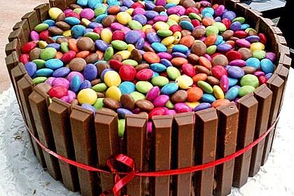 Gâteau à la crème au chocolat 1