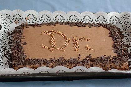 Gâteau à la crème au chocolat 3
