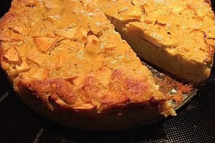 Apfelkuchen mit Vanille - Schmand (Bild)