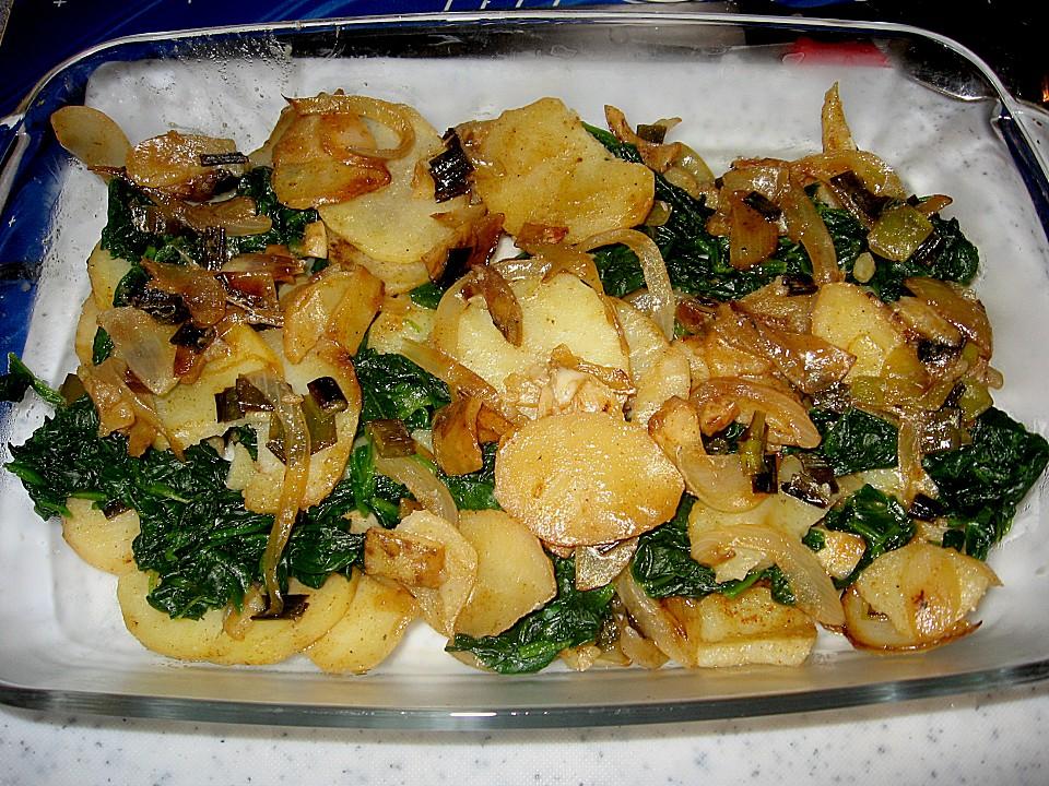 Kartoffel Spinat Auflauf Von Mamatuktuk Chefkoch