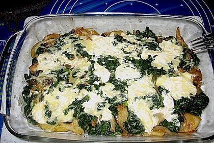 Kartoffel - Spinat - Auflauf 15
