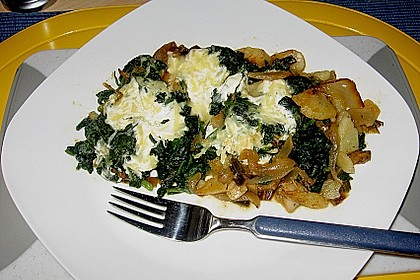 Kartoffel - Spinat - Auflauf 9