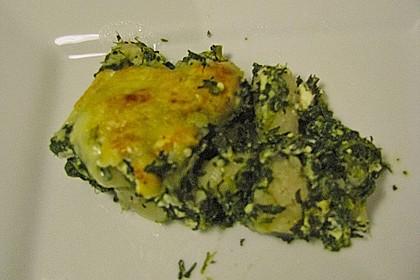 Kartoffel - Spinat - Auflauf 23