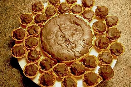 Walnuss - Schokolade - Kuchen (Bild)