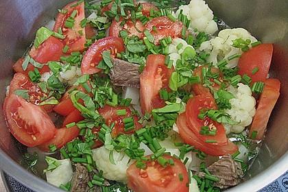 Rindfleischeintopf mit Tomaten, Sellerie und Kohlrabi 2