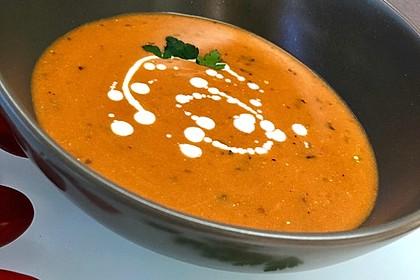 Tomaten - Paprika - Cremesuppe 3