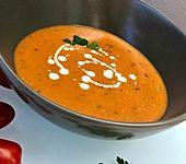 Tomaten - Paprika - Cremesuppe (Bild)