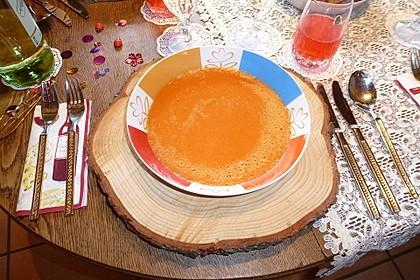 Tomaten - Paprika - Cremesuppe 6