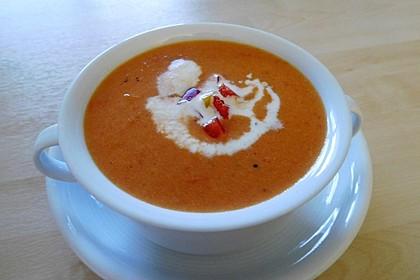 Tomaten - Paprika - Cremesuppe 5