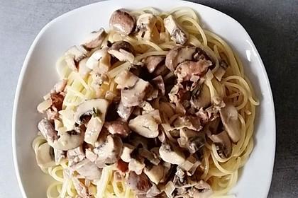 Champignon-Spaghetti (Bild)