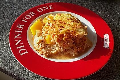 Reis - Hähnchen - Auflauf 12