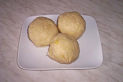 Kartoffelklöße aus rohen Kartoffeln