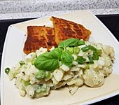 Kartoffelsalat mit Frühlingszwiebeln (Bild)