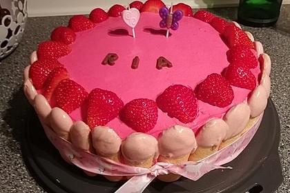 Erdbeer - Joghurt - Sahne - Torte 18