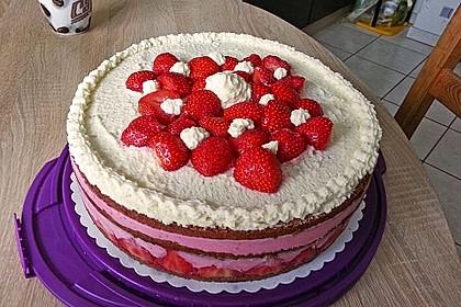 Erdbeer - Joghurt - Sahne - Torte 27