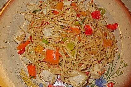 Asiatischer Spaghettisalat 4
