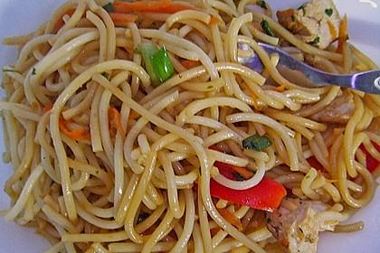 Asiatischer Spaghettisalat 5