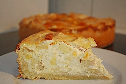 Apfel - Quark - Kuchen 3