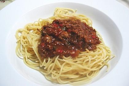 Spaghetti griechische Art