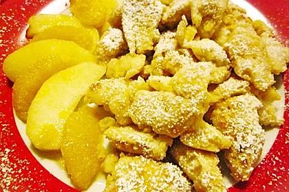 Kaiserschmarrn mit  Apfel - Orangen - Sauce 4