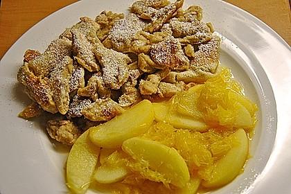 Kaiserschmarrn mit  Apfel - Orangen - Sauce 3