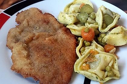 Spargel mit Schweineschnitzel Wiener Art und Kartoffelbrei 1