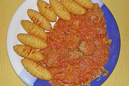 Mexikanische Fleischbällchen in Sauce 4
