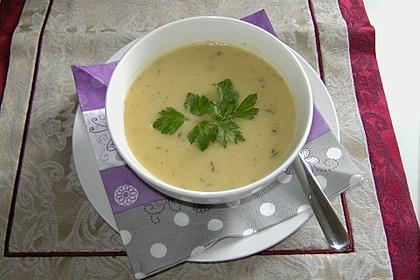 Kohlrabi - Petersilien - Suppe 9